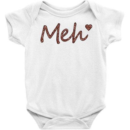 Meh Baby Bodysuit Designed By Sengul