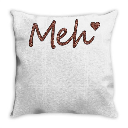 Meh Throw Pillow Designed By Sengul