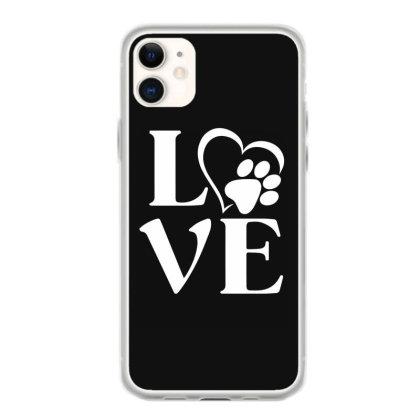 Love Paw For Dark Iphone 11 Case Designed By Sengul
