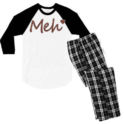 Meh Men's 3/4 Sleeve Pajama Set Designed By Sengul