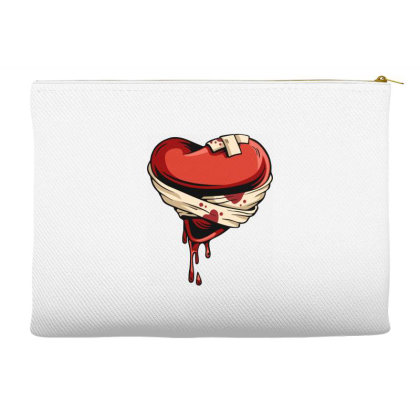 Halloween Heart Accessory Pouches Designed By Chiks