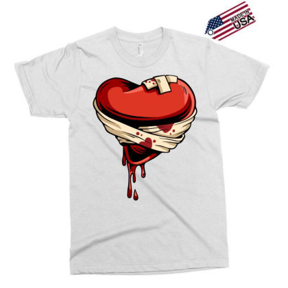 Halloween Heart Exclusive T-shirt Designed By Chiks