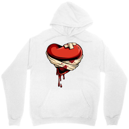 Halloween Heart Unisex Hoodie Designed By Chiks