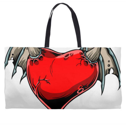 Batheart Weekender Totes Designed By Chiks