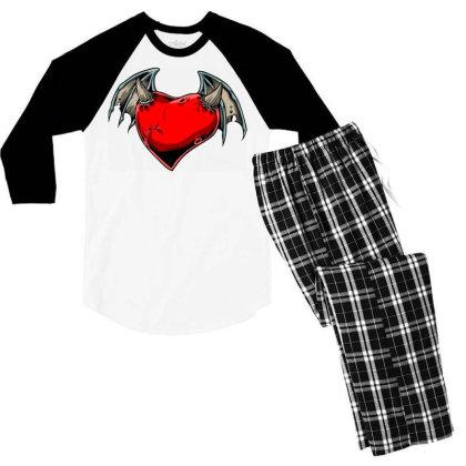 Batheart Men's 3/4 Sleeve Pajama Set Designed By Chiks