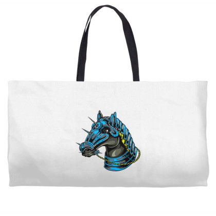 Horse Head Weekender Totes Designed By Chiks