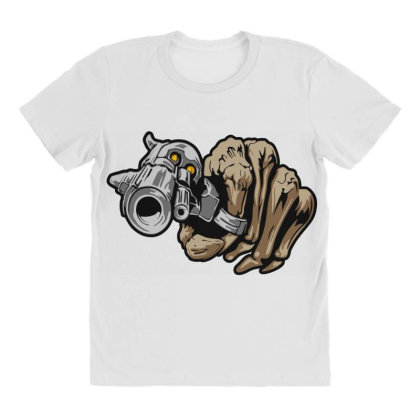 Gun Shot All Over Women's T-shirt Designed By Chiks