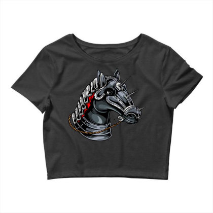 Horse Head Crop Top Designed By Chiks