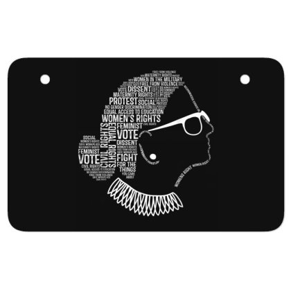Feminism Quotes Feminist Gifts Womens Rights Atv License Plate Designed By Conco335@gmail.com
