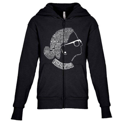 Feminism Quotes Feminist Gifts Womens Rights Youth Zipper Hoodie Designed By Conco335@gmail.com