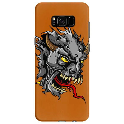 Devil Head Samsung Galaxy S8 Case Designed By Chiks