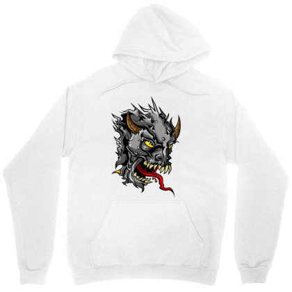 Devil Head Unisex Hoodie Designed By Chiks