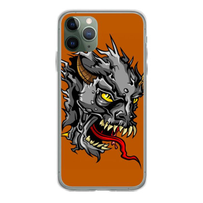 Devil Head Iphone 11 Pro Case Designed By Chiks