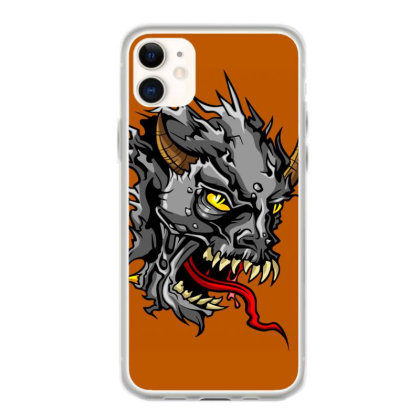 Devil Head Iphone 11 Case Designed By Chiks