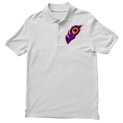 Peacock Men's Polo Shirt Designed By Chiks