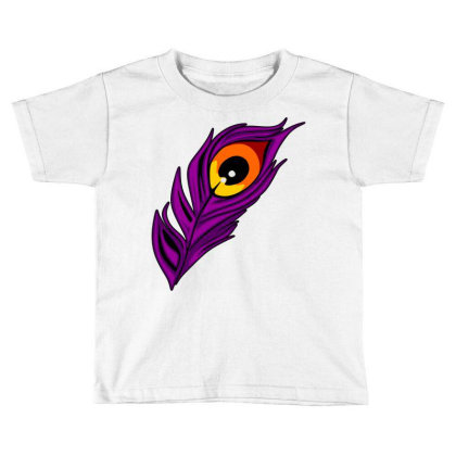 Peacock Toddler T-shirt Designed By Chiks
