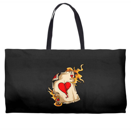Flame On Cards Weekender Totes Designed By Chiks