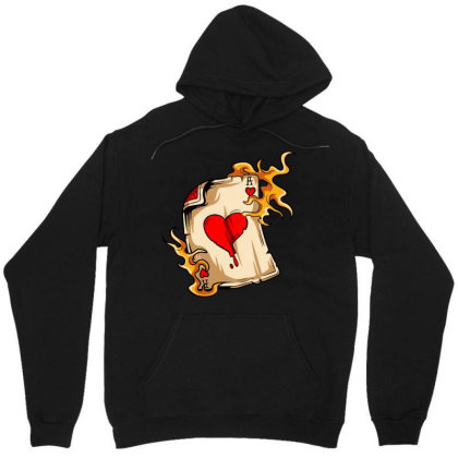 Flame On Cards Unisex Hoodie Designed By Chiks