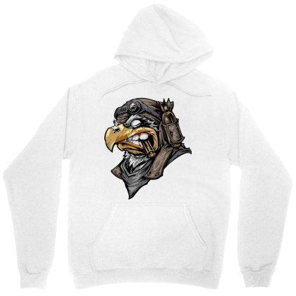 Eagle Head Unisex Hoodie Designed By Chiks