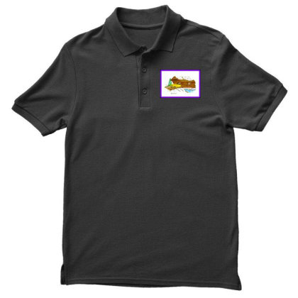 1940 Desoto Men's Polo Shirt Designed By Old Mill Studio