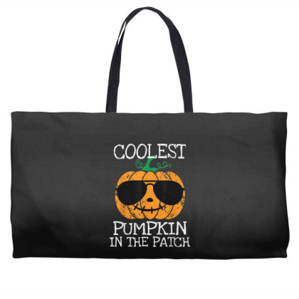 Kids Coolest Pumpkin In The Patch Halloween Weekender Totes Designed By Conco335@gmail.com