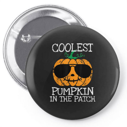 Kids Coolest Pumpkin In The Patch Halloween Pin-back Button Designed By Conco335@gmail.com