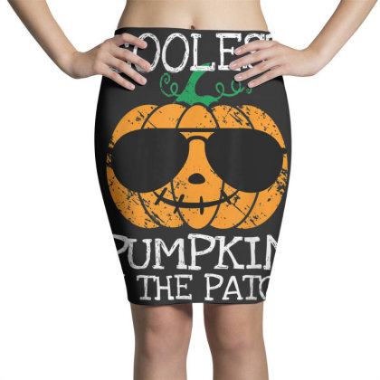 Kids Coolest Pumpkin In The Patch Halloween Pencil Skirts Designed By Conco335@gmail.com