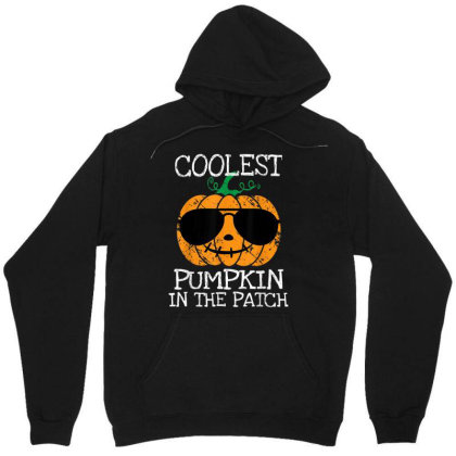 Kids Coolest Pumpkin In The Patch Halloween Unisex Hoodie Designed By Conco335@gmail.com