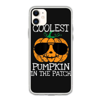 Kids Coolest Pumpkin In The Patch Halloween Iphone 11 Case Designed By Conco335@gmail.com