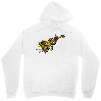 Guitar Graphic Art Unisex Hoodie Designed By Chiks
