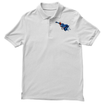 Electric Guitar Men's Polo Shirt Designed By Chiks