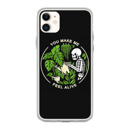You Make Me Feel Alive - Halloween Skull Iphone 11 Case Designed By Mrt90