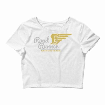 Road Runner Crop Top Designed By Chiks