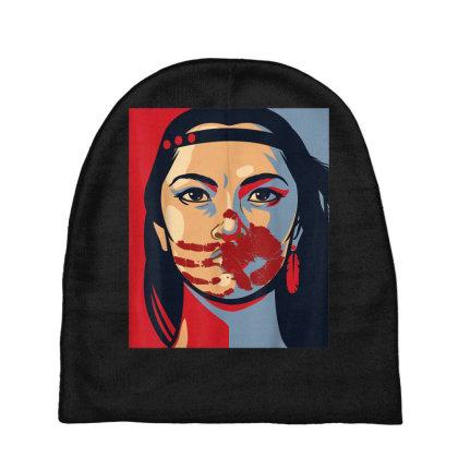 Awareness Indigenous Woman Art Stolen Sisters Baby Beanies Designed By Mrt90