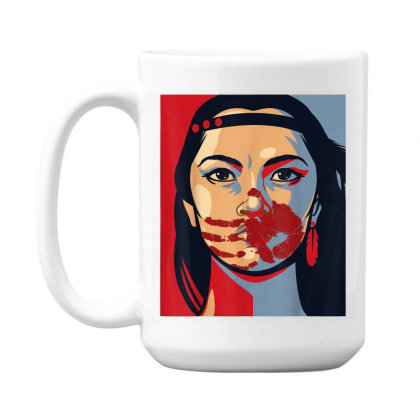 Awareness Indigenous Woman Art Stolen Sisters 15 Oz Coffe Mug Designed By Mrt90