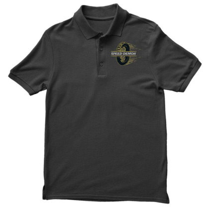 Speed Demonz Men's Polo Shirt Designed By Chiks