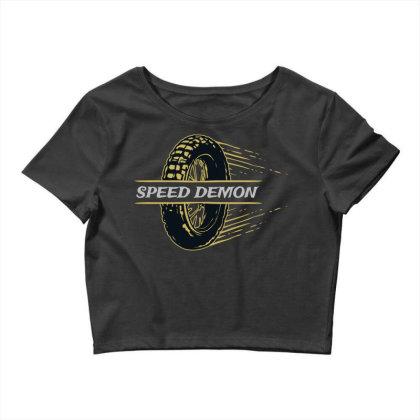 Speed Demonz Crop Top Designed By Chiks