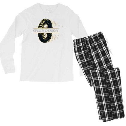 Speed Demonz Men's Long Sleeve Pajama Set Designed By Chiks