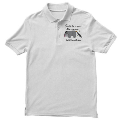 Winnie The Pooh Eeyore Could Be Worse Men's Polo Shirt Designed By Schulz-12