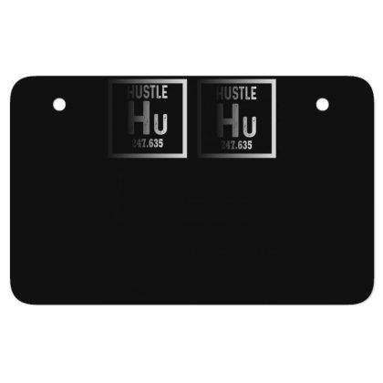 Hustle Harder Neon Atv License Plate Designed By Bettercallsaul