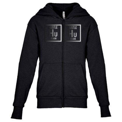 Hustle Harder Neon Youth Zipper Hoodie Designed By Bettercallsaul