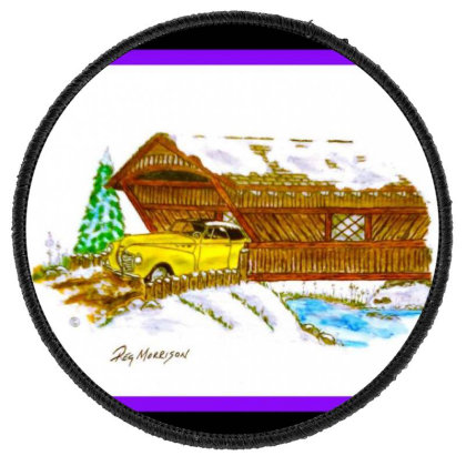 1940 Desoto Round Patch Designed By Old Mill Studio