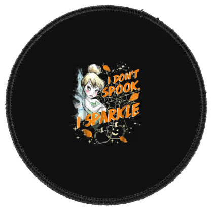 Peter Pan Tinkerbell Halloween Sparkle Round Patch Designed By Schulz-12