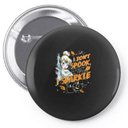 Peter Pan Tinkerbell Halloween Sparkle Pin-back Button Designed By Schulz-12