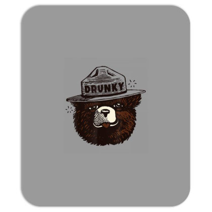 Drunky The Bear Mousepad Designed By Mrt90