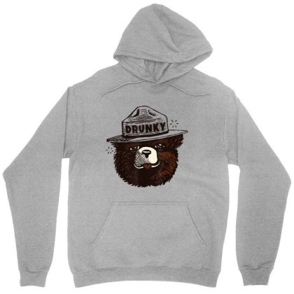 Drunky The Bear Unisex Hoodie Designed By Mrt90