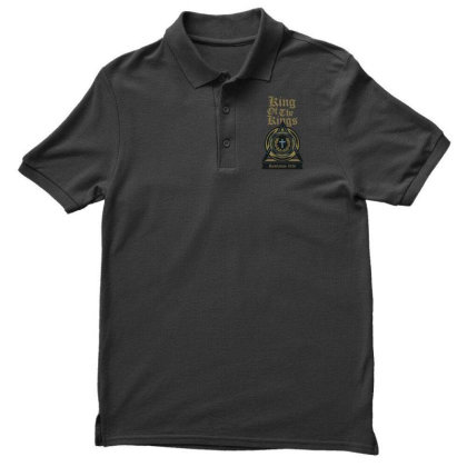 King Of The Kings Men's Polo Shirt Designed By Chiks