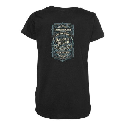 Feast Of Tabernacles Rock Valley Christian Maternity Scoop Neck T-shirt Designed By Kakashop