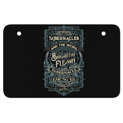 Feast Of Tabernacles Rock Valley Christian Atv License Plate Designed By Kakashop