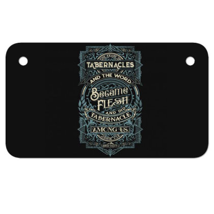 Feast Of Tabernacles Rock Valley Christian Motorcycle License Plate Designed By Kakashop